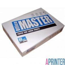 Бумага для копирoвальных аппаратов Office Master (А4, 80 г/кв.м, белизна 153% CIE, 500 листов)