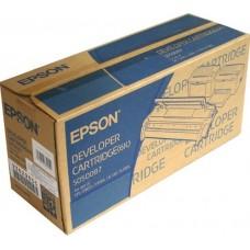 Еpson S050087 тонер-картридж для EPL-5900, 6100 (черный, 6600 стр)
