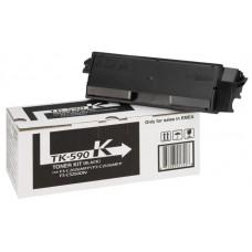Kyocera Document Solutions TK-590K тонер-картридж для Kyocera Kyocera FS-C2026MFP, Kyocera ECOSYS M6526cidn, Kyocera FS-C2526MFP, Kyocera FS-C2626MFP, Kyocera FS-C2026MFP+, Kyocera FS-C2126MFP+, Kyocera ECOSYS M6026cidn (черный, 7000 стр)