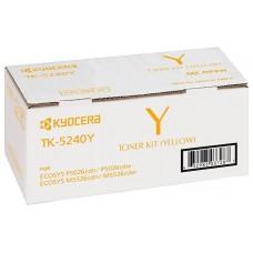 Kyocera Document Solutions TK-5240Y тонер-картридж для Kyocera ECOSYS M5526cdw, ECOSYS M5526cdn, ECOSYS P5026cdn, ECOSYS P5026cdw (3000 стр)