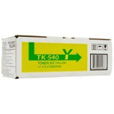 Kyocera Document Solutions TK-540Y тонер-картридж для Kyocera FS-C5100DN (4000 стр)