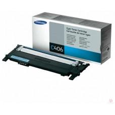 Samsung CLT-C406S тонер-картридж для Samsung CLP-360, 365, 368, CLX-3300, 3305 (1000 стр)