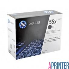 Картридж HP (hewlett packard) CE255x (черный) оригинальный