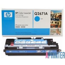 Картридж HP Q2671A для LJ 3500/3550 (4000 стр. Голубой) Оригинальный