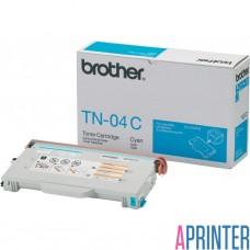 BROTHER TN-04C тонер-картридж для HL-2700CN, MFC-9420CN (голубой, 6600 стр)