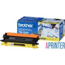 BROTHER TN-135Y тонер-картридж для HL-4040CN, HL-4050CDN, DCP-9040CN, DCP-9042CDN, MFC-9440CN, MFC-9450CDN (жёлтый, 4000 стр)