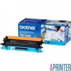 BROTHER TN-135C тонер-картридж для HL-4040CN, HL-4050CDN, DCP-9040CN, DCP-9042CDN, MFC-9440CN, MFC-9450CDN (голубой, 4000 стр)