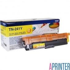 BROTHER TN-241Y тонер-картридж для HL-3140CW, HL-3170CDW, DCP-9020CDW, MFC-9330CDW (жёлтый, 1400 стр)