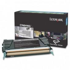 Картридж лазерный Lexmark C746H1KG (12000 стр. Черный)