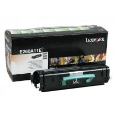 Картридж Оригинальный Lexmark E260A11E (3500 стр. Черный)