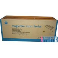Тонер-картридж Minolta-MagiColor 2200 / 2210 Yellow