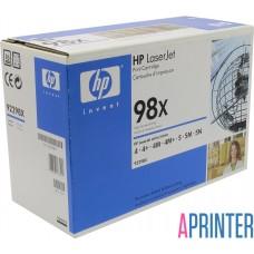 Картридж HP 98X 92298X для HP 4, 4M, 4Plus, 5, 5M, 5N (8800 стр. Черный)