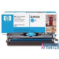 Картридж HP Q3961A для HP LJ 2550 (4000 стр. Голубой)