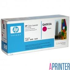 Картридж HP Q6003A для HP LJ 2600 (2000 стр. Пурпурный)