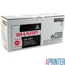 Тонер-картридж Оригинальный Sharp AR-168T (Черный 8000 стр.)