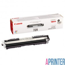 Картридж для лазерного принтера Canon 729 BK (1200 стр. Black)