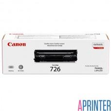 Картридж для лазерного принтера Canon 726 (2100 стр. Черный)