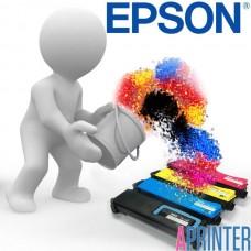Заправка картриджа Epson 1100BK для принтеров Epson AcuLaser C1100 / EPSON CX 11 (4500 стр. Черный)