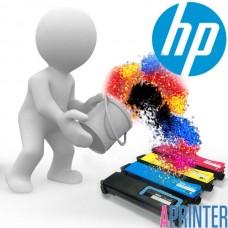 Заправка картридж HP Q6002A для HP LJ 2600 (2000 стр. Желтый)