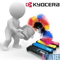 Заправка картриджа Kyocera TK-1110 Оригинальный, Совместимый, с Чипом