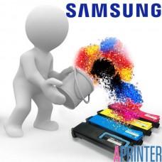 Заправка картриджа Samsung CLP C300 для принтеров Samsung CLP 300 / 300N / 3160N / 3160FN (1000 стр. Голубой)